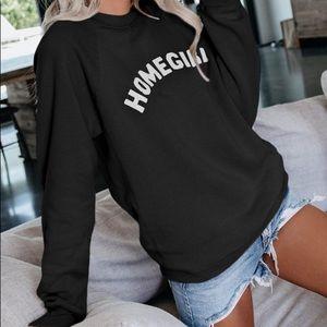 Tops - NEW HOMEGIRL Oversized Sweatshirt Graphic S-5X